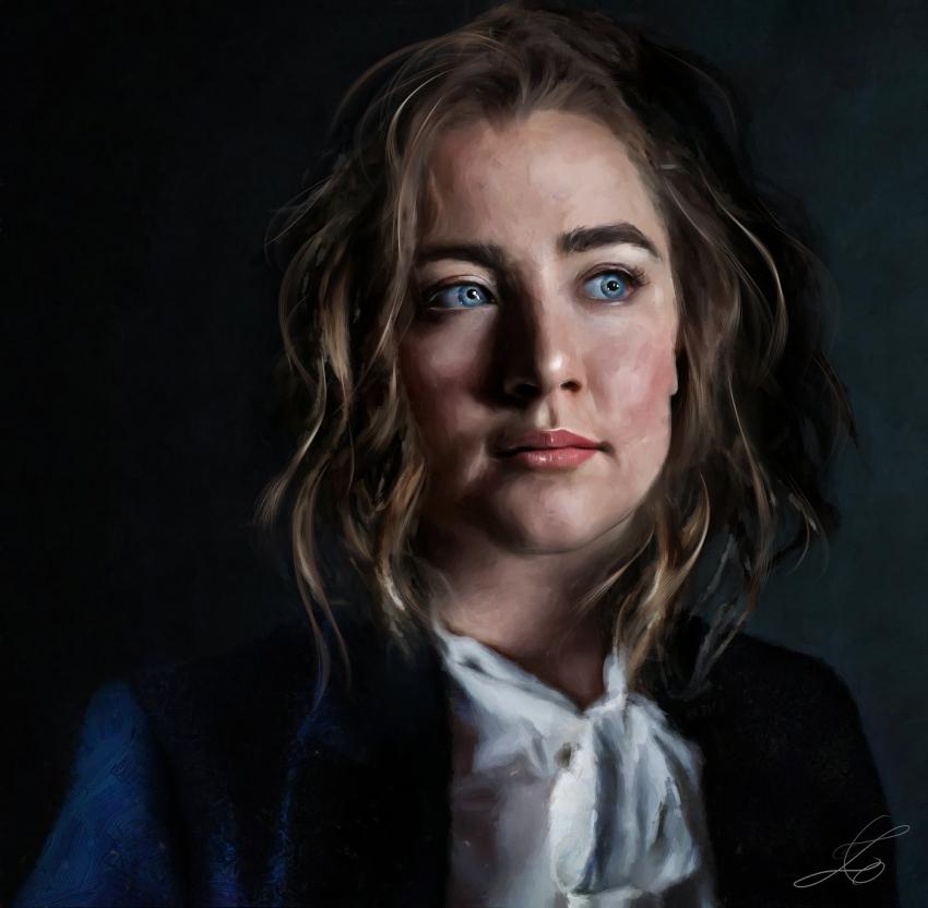 Saoirse Ronan por z6ig
